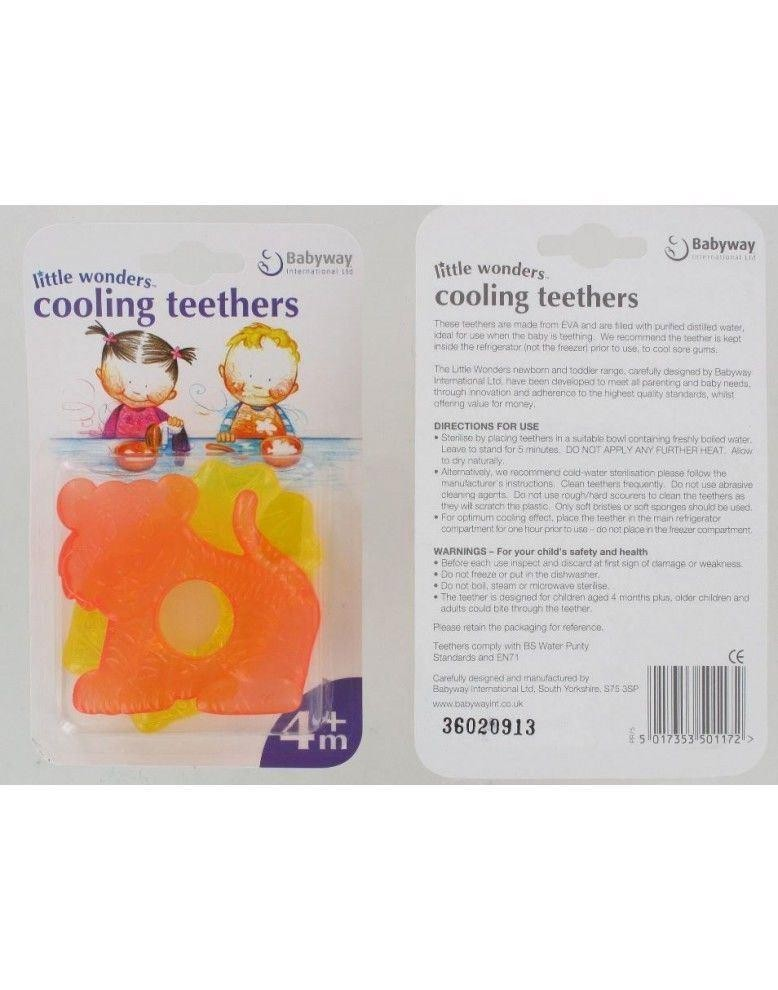 Little Wonders Cooling Teethers - Pack of 2 (4+ months)