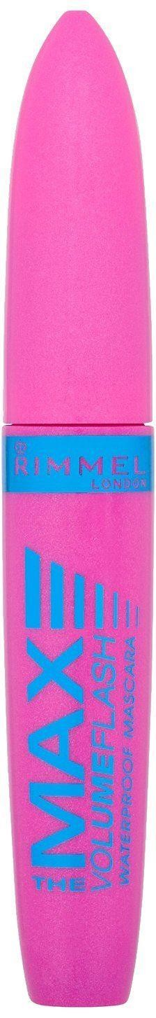 Rimmel Volume Flash The Max Waterproof Mascara Black