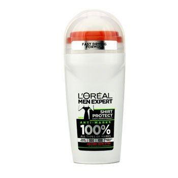 L`Oreal Paris Men Expert Shirt Protect 48H Anti-Perspirant Roll-On Deodorant ...