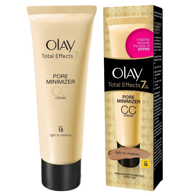 Olay Total Effects Pore Minimising Moisturiser CC Cream Light to Medium 50 ml
