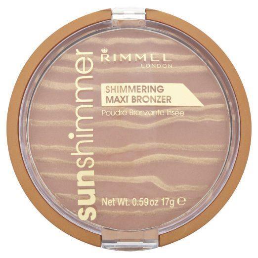 Rimmel Sunshimmer Shimmering Maxi Bronzer 17g - 003 Sun Queen