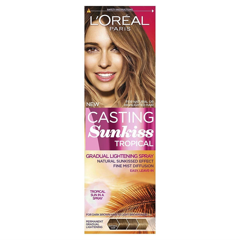 L'Oréal Casting Sunkiss Gradual Lightening Spray Dark Brown Hair