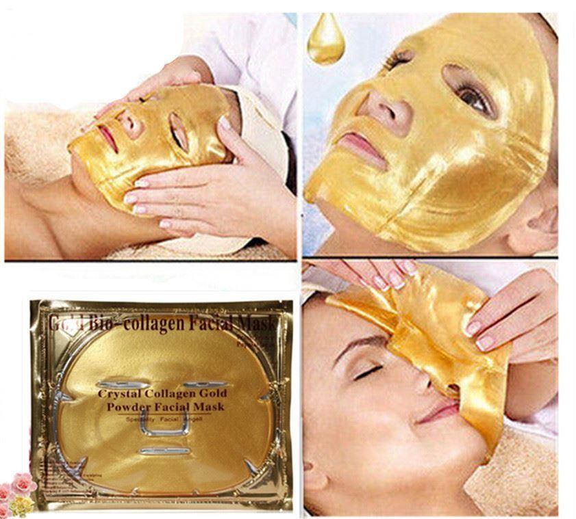 Маска для лица collagen crystal facial mask
