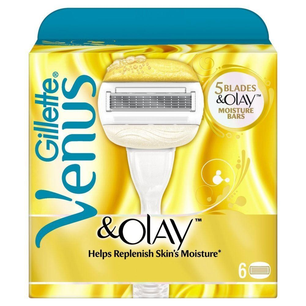 Gillette Venus & Olay Sugarberry Scent Pack of 6 Cartridges [Misc.]