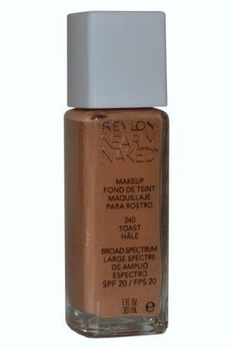 Nearly Naked Foundation SPF 20 by Revlon Toast 30ml
