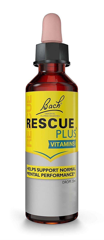 RESCUE PLUS Dropper Lemon and Elderflower, 20 ml