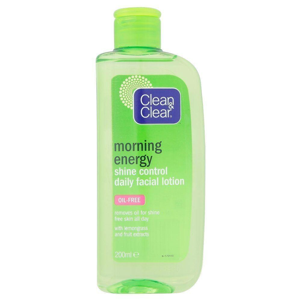 Clean & Clear Morning Energy Shine Control Daily Facial Lotion 200ml