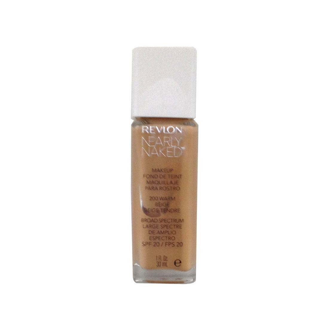Revlon Nearly Naked Foundation SPF20 - 200 Warm Beige 30ml