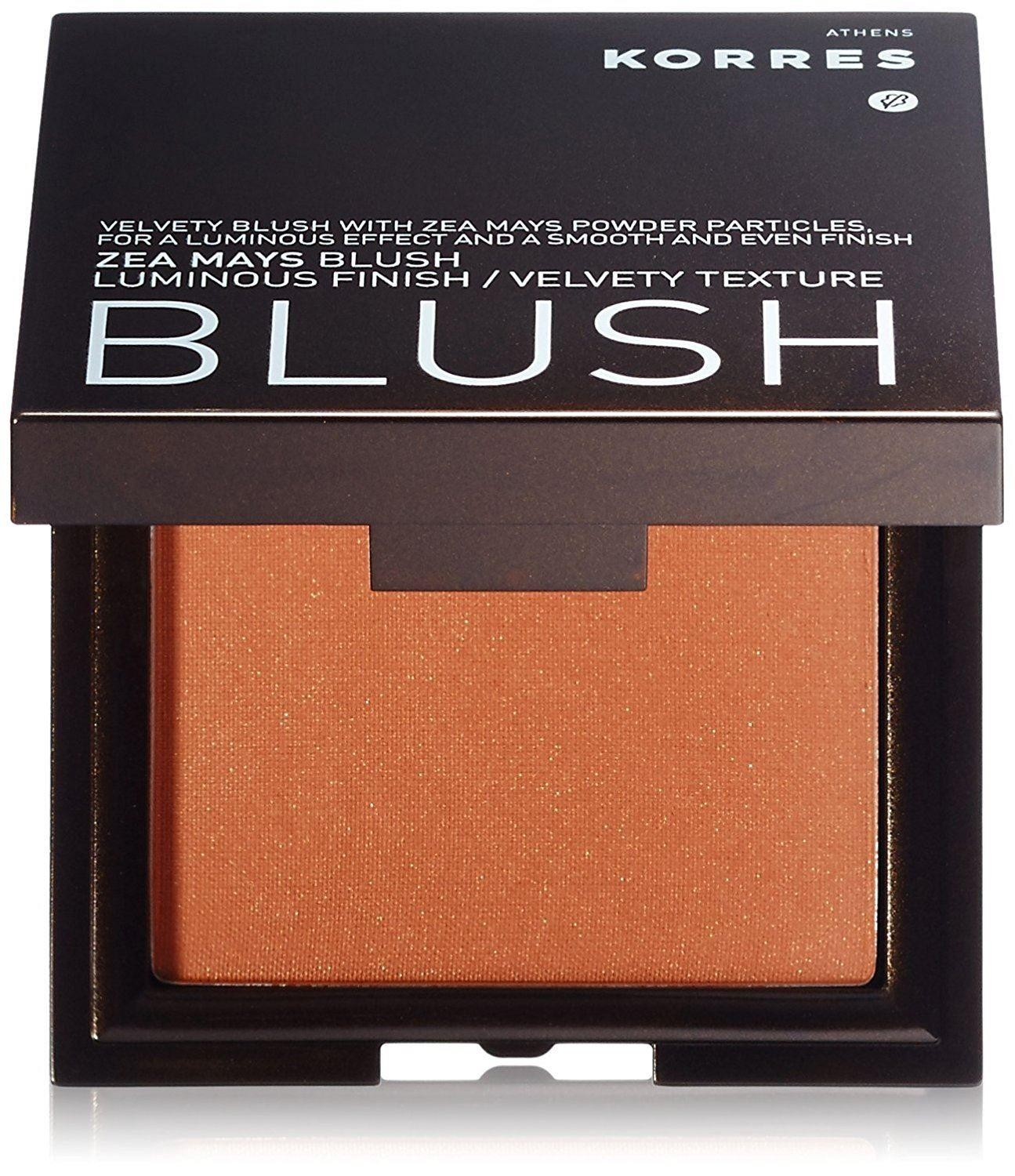 KORRES Colour Zea Mays Velvety Texture Blush in Apricot 42