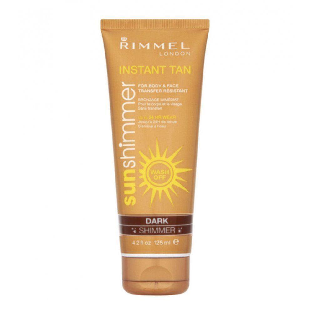 Rimmel London Sunshimmer Instant Tan - Dark Shimmer 125ml