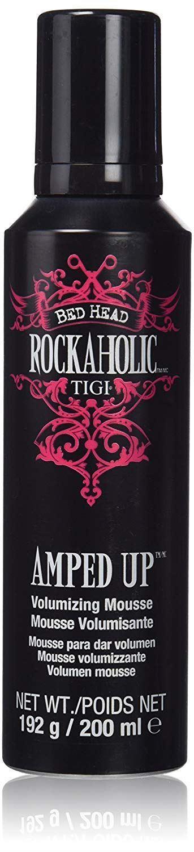 TIGI Bed Head Rockaholic Amped Up Volumising Mousse, 200 ml