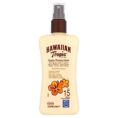 Hawaiian Tropic Protective SPF15 Sun Lotion Spray 200ml [Personal Care]