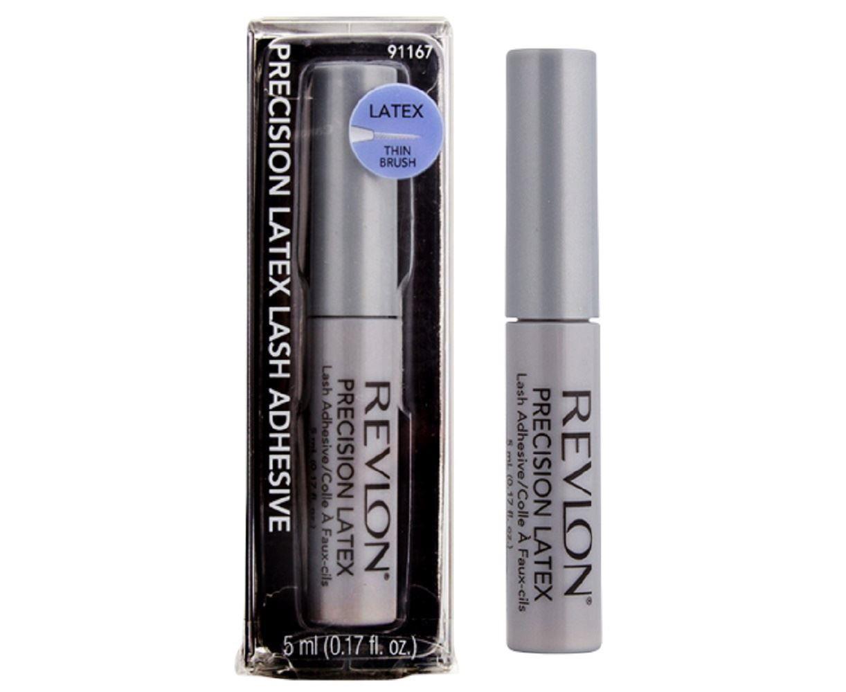 Revlon Precision Latex Waterproof Lash Glue, Clear