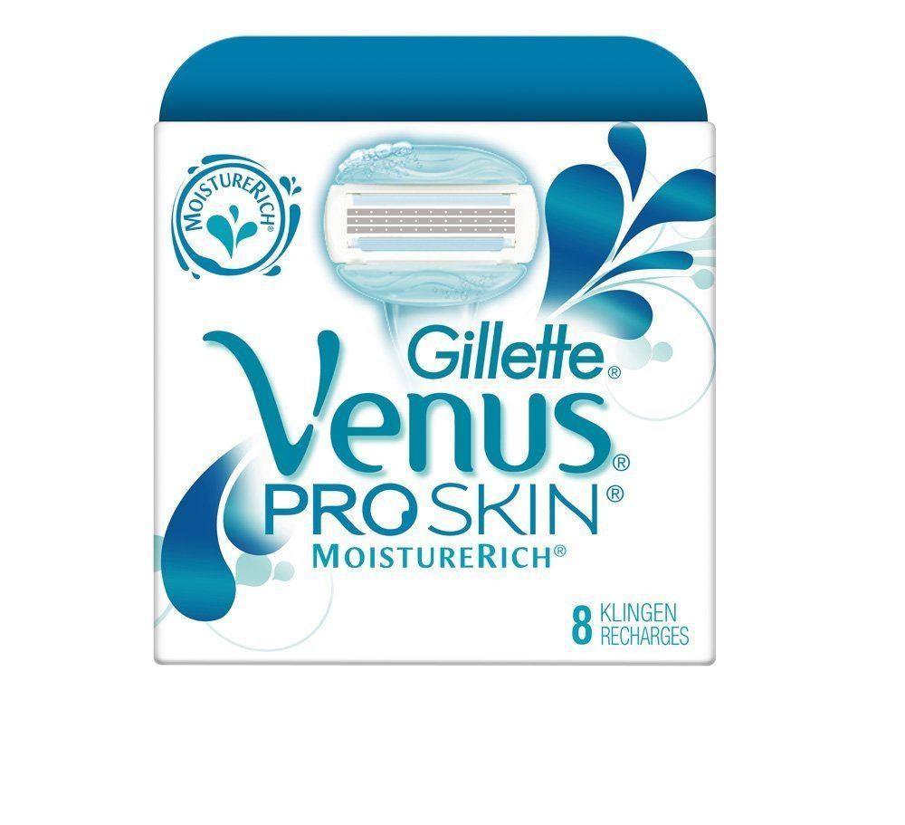 Gillette Venus ProSkin MoistureRich Women`s Razor Refill Cartridge 8-Pack