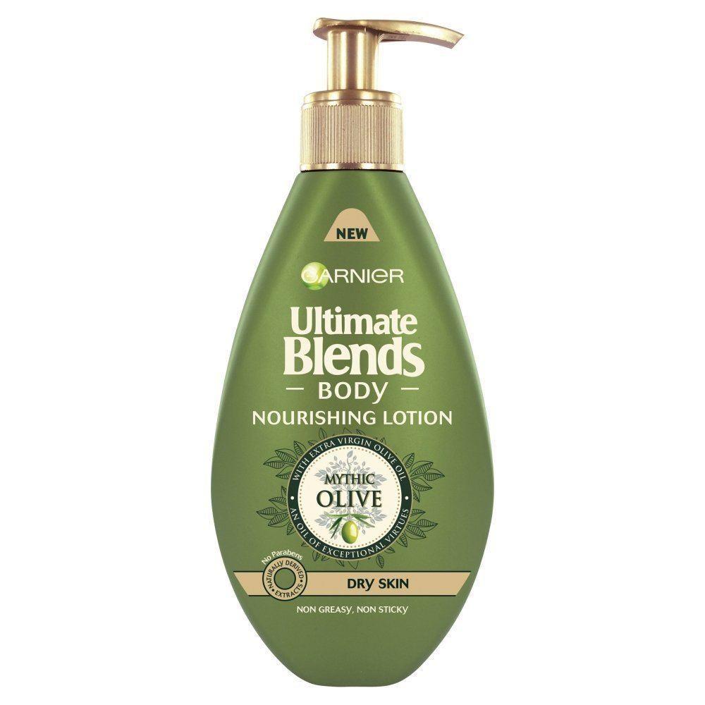 Garnier Ultimate Blends Nourishing Olive Body Lotion Dry Skin 250ml