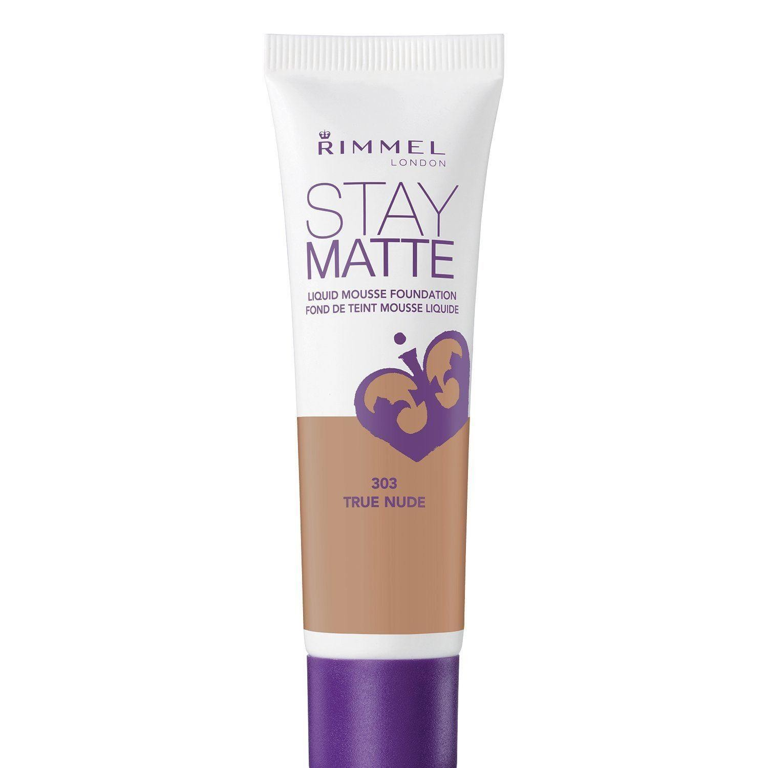 Rimmel Stay Liquid Mousse Matte Foundation True Nude 303