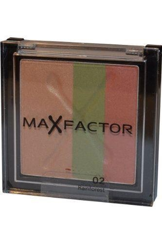 Max Factor Max Effect Trio Eyeshadow Rainforest [Personal Care]