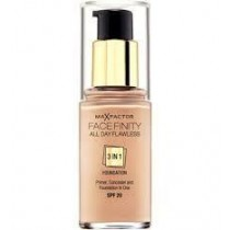 Max Factor Facefinity SPF20 All Day Flawless 3-in-1 Number 65 Foundation, Rose Beige 30 ml