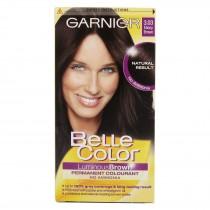 Garnier Belle Color Permanent Hair Color Number 3.03, Ebony Brown