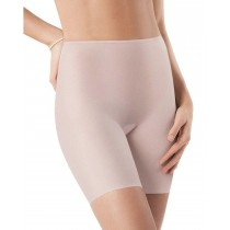 SPANX Skinny Britches Mid Thigh Ultra Light Shaper Short 901 Pure - SMALL