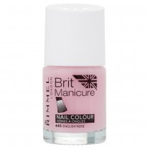 Rimmel London Brit Manicure Nail Varnish Shade - 445 English Rose