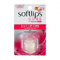 Softlips Cube 5 in 1 Lip Care - Strawberry 6.5g