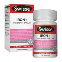 Swisse Ultiplus Iron+ 50 Tablets