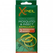 Xpel Tropical Formula Mosquito/Insect repellent bands - Deet Free