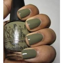 OPI UH-OH ROLL DOWN THE WINDOW KHAKI GREEN SIZE 15ML NAIL POLISH