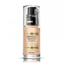 Max Factor Miracle Match Foundation, 40 Light Ivory, 30 ml