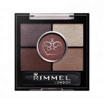 Rimmel London Glameyes HD 5 Pan Eye Shadow, 22 Brixton Brown
