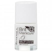Rimmel London Brit Manicure Nail Tip Colour Shade - 430 Porcelain