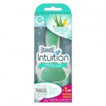 Wilkinson Sword Intuition Sensitive Care Razor for Women With 2 x Blade Refills