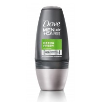 6 x Dove Men+Care Extra Fresh Roll-On Deodorant (6 x 50 ml)