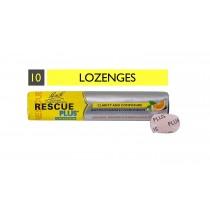 BACH RESCUE PLUS Lozenge Orange and Elderflower 10 Lozenges