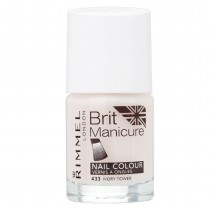 Rimmel London Brit Manicure Nail Varnish Shade - 433 Ivory Tower