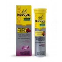 RESCUE PLUS Effervescent Tablets Mixed Berry 15 Tablets