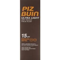 Piz Buin Ultra Light Dry Touch Face Fluid SPF 15 50 ml
