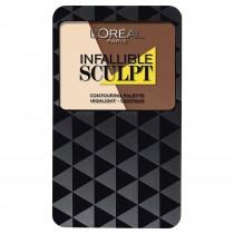 L'Oréal Infallible Sculpt Contour Palette, Shade Medium/Dark
