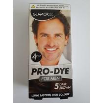 Glamorize Pro Dye Hair Dye For Men Shade 5 - Dark Brown