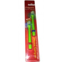 Colgate Actibrush Replacement Heads (Pack of 3 - Six Heads In Total)