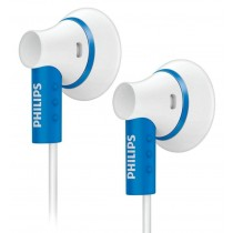 Philips SHE3000BL/10 Ear Bud Headphones - Blue [Electronics]