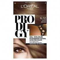 L'Oreal Prodigy 6.32 Mocca Natural Light Golden Brown Hair Dye