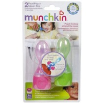 Munchkin Click Lock Pouch Spoons (2 in pack)