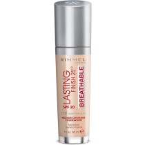 Rimmel London Lasting Finish Breathable Foundation, Spf 20, 010 Light Porcelain