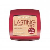 Rimmel London Lasting Finish 25 HR Powder, 002 Soft Beige, 7 g