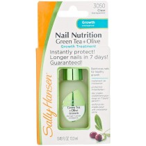 Sally Hansen Nail Nutrition Growth Formula Green Tea + Olive 13.3 ml