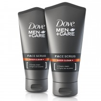 Dove Men + Care Deep Clean Face Scrub 150 ml - Pack of 2
