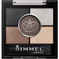 Rimmel London glam'Eyes Hd 5 Pan Eye Shadow, 23 Foggy grey