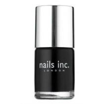 Nails Inc Black Taxi Patent Black Nail Polish 10 ml